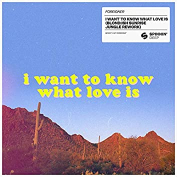 I Want To Know What Love Is (BLOND:ISH Sunrise Jungle Rework)