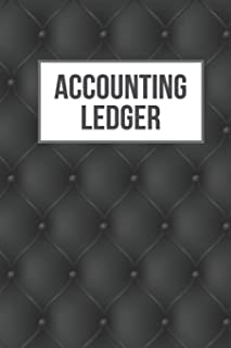Accounting Ledger: Cash Book Accounting Journal for Small Businesses   Log, Track, & Record Expenses & Income