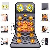 ZHHME Massagematte mit Wärmefunktion - Akupressur Massagegerät Massageliege Klappbar - 26 Massagekopf-Matratzenauflage für Nacken, Rücken und Beine gegen Müdigkeit und Schmerzen