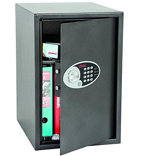 Phoenix Safe Company SS805E Phoenix SS0805E-Cassetta di Sicurezza Vela per casa e Ufficio, Misura 5, con Serratura Elettronica, Grigio Grafite, Extra Large