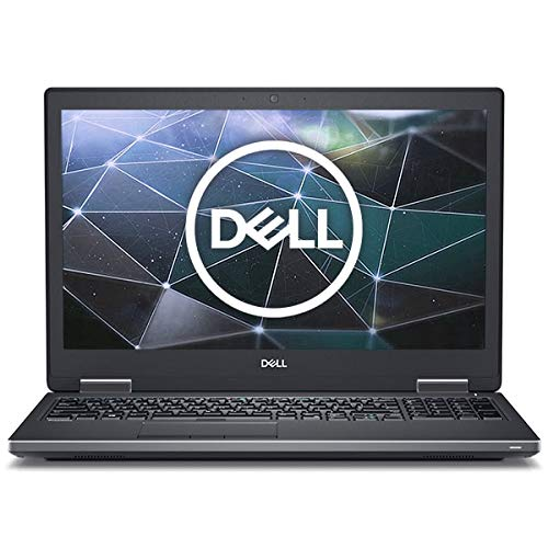 Dell Precision 15 7530 Mobile Workstation, Carbon Fibre, Intel Core i9-8950HK, 32GB RAM, 256GB SSD, 15.6' 1920x1080 FHD, 4GB NVIDIA Quadro P2000, Dell 3 YR WTY + EuroPC Warranty Assist, (Renewed)