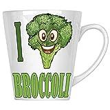 J'aime les légumes frais de brocoli 34 cl Latte Tasse a323L
