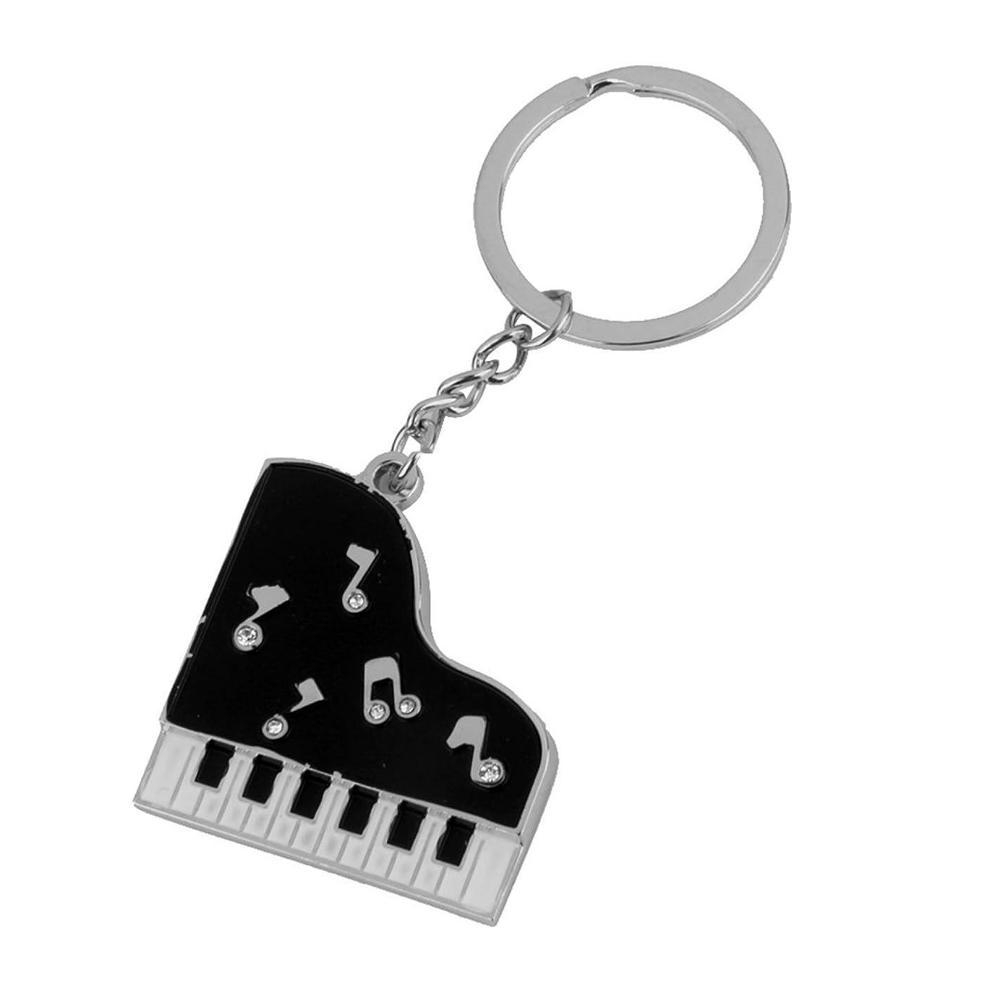 ホバート胃被るSONONIA キーリング ペンダント ピアノキー形 キーホルダー キーチェーン 飾り 贈り物 ギフト