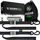 Rhino USA Motorcycle Tie Down Straps (2 Pack) Lab Tested...