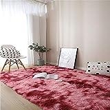 AIJU Alfombra mullida, Alfombra de Piel de Oveja,Alfombra de Piel sintética,universales alfombras de Varios tamaños utilizadas en pbedroom, Sala de Estar,Silla o sofá