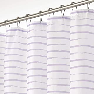 90 x 180 cm violetpos classique Bleu et Blanc Bande Rideau de douche salle de bain d/écoratifs Polyester