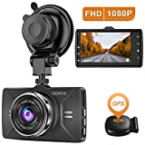 Dash Cam GPS 2020 New Version CHORTAU Dash Camera,Full HD 1080P Dash cameras