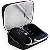 BOVKE Carrying Case Travel Bag for Omron 10 Series BP785N / BP786 / BP786N Wireless Upper Arm Blood Pressure Monitor Cuff,Black