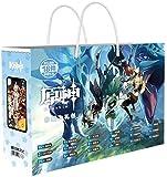 Genshin Impact-Tasche mit Charakter-Aufklebern