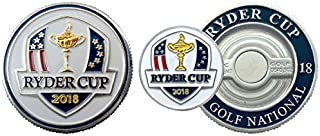 2018 Ryder Cup Golf Ball Marker - Poker Chip Size - Le Golf National