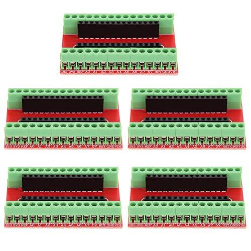 Accesorios industriales adaptadores terminales compactos para placa de expansión Nano IO Shield 5 piezas para Arduino
