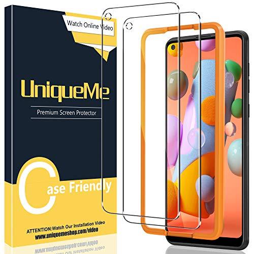 [2 Pack] UniqueMe Compatible con Samsung Galaxy M11 / A11 Protector de...