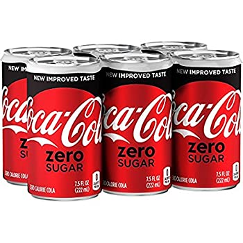 Coca-Cola Zero 24 ct 7.5 FL OZ Mini-Can by Coke Zero