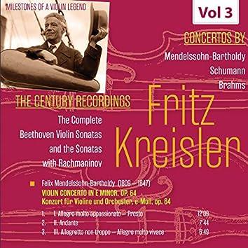 Milestones of a Violin Legend: Fritz Kreisler, Vol. 3
