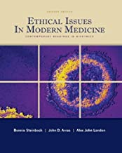 Ethical Issues In Modern Medicine: Contemporary Readings in Bioethics 7th Edition by Steinbock, Bonnie, London, Alex John, Arras, John [Paperback]