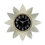 YANGYUAN Nordic Light Lujo Personalidad Arte Moderno Reloj Ambiente Minimalista Reloj Creativo Reloj de Pared silencioso de la Sala Hogar Moda