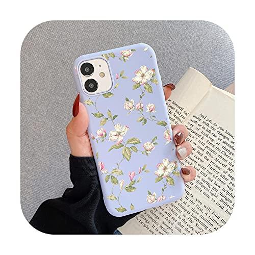 Carcasa para iPhone Xs Max y XS, diseño de mariposas, color morado