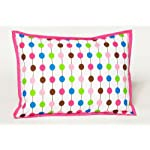 Crib Bedding And Baby Bedding Bacati - Botanical Sanctuary Pearl String Multicolor Pink Dec Pillow1