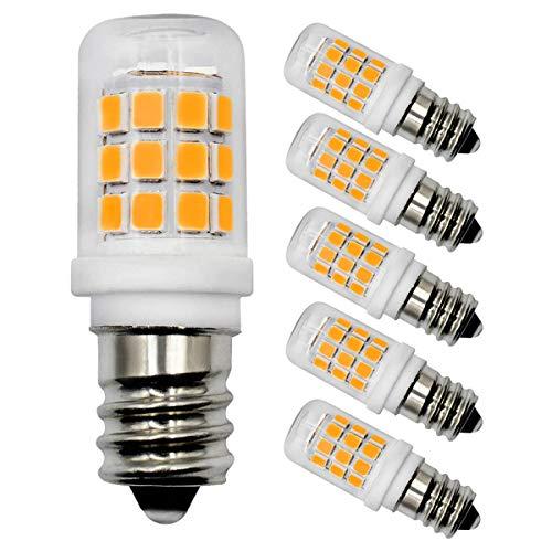 E14 LED Glühbirnen 2.8W 30W Entspricht Glühbirnen Dimmbar Warmweiß 3000K Kleine Edison-Schraube Lampe für Nachtlicht,Herd-Hoods Bulbs,Deckenventilator,Tischlampen AC 220-240V(5er-Pack)[MEHRWEG]