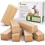Basswood Carving Blocks Kit Carving Wood Basswood for Wood Carving Balsa Wood Blocks Carving Wood Blocks for Carving(7Pack)