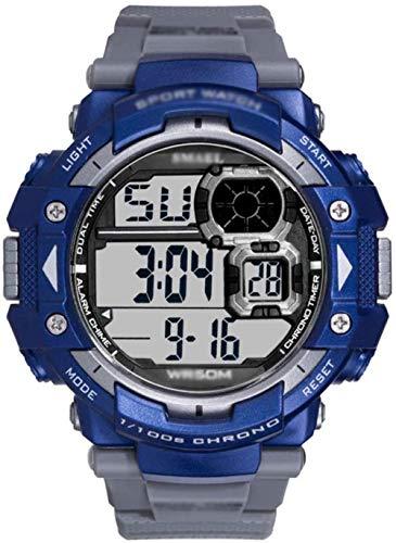 Reloj Deportivo para Hombre Reloj de Pulsera para Hombre para Correr 50m Es Digital Resistente al Agua con Cuenta atrás/Temporizador/Alarma para Hombres-B Peng (Color: D)-UN Fantastic