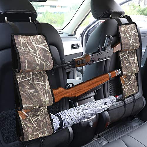 Accmor Back Seat Gun Rack, Hunting Seat Back Gun Sling Strap...