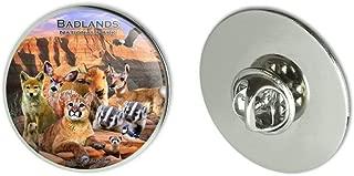 Badlands National Park South Dakota SD Animals Cougar Coyote Metal 1.1