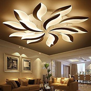 TIANLIANG10 Deckenleuchten Wohnzimmer lampe,led Deckenleuchte,Schlafzimmer  Lampen,dekorative Leuchte,10 Kopf stufenlos dimmen