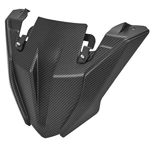 Guardabarros Moto Para MT-09 MT09 TRACER 900 GT FJ09 2018 2019 2020 Carbon Moto Rueda delantera Fender Pico de la nariz de la nariz con el cono de la extensión Nuevo Guardabarros Para Moto