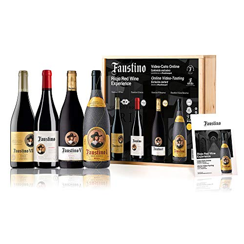 Faustino Red Wine Experience | PACK 4 Botellas
