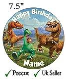 Personalisierbarer Dinosaurier-Tortenaufsatz