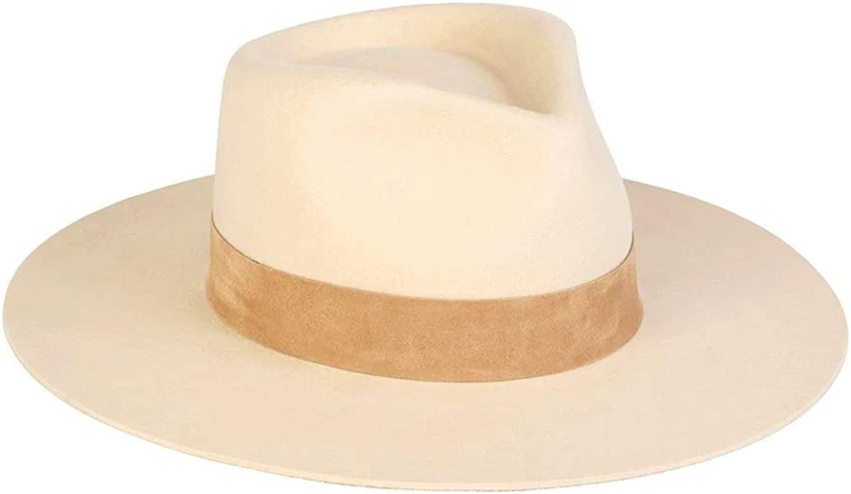 Lack of Color Women's The Wool Fedora shop Suede-Trimmed Mirage Max 49% OFF