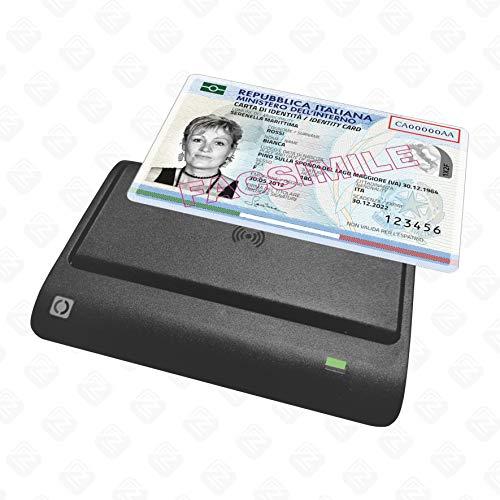 Internavigare Lettore Carta d'Identità Elettronica CIE 3.0, Carte contactless 13.56 MHz ISO 14443 A&B (es. Mifare) e Tag NFC
