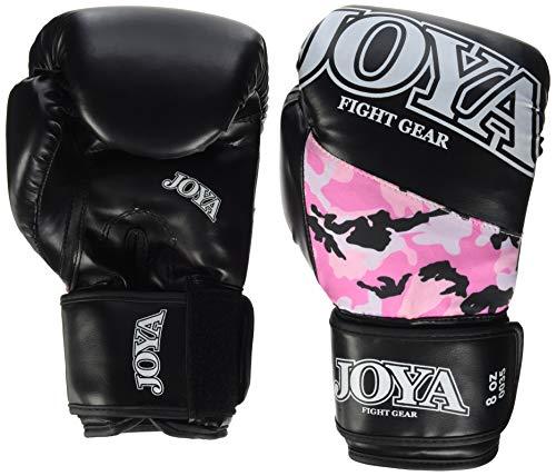 JOYA Top One - Guante de Boxeo (PU, 8 onzas), diseño de Camuflaje, Color Rosa