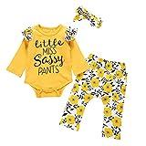-Kinder Mädchenkleidung Baby MäDchen Kinderkleidung Bluse Mit RüSchen Oberteil Bowknot Shorts äRmelloses, äRmelloses Top + Schleife Babybekleidung für Mädchen