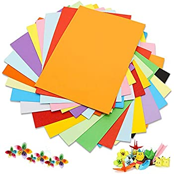 100 sheets 160gsm A4 coloured card Pick from 24 colours cardmaking craft printer