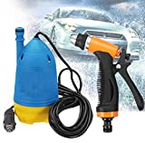 IVAR Portable Home and Car Electric Pressure Washer with Water Gun, Hose Pipe