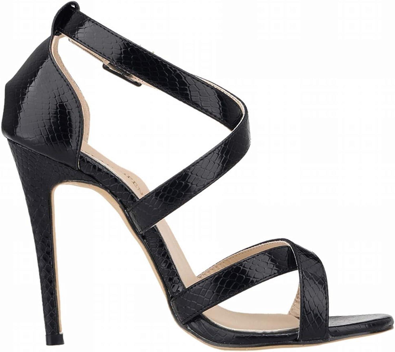 Linson123 Sexy Sandals Stiletto Open Toe Commuter Wedding Party Bridesmaid High Heel Women