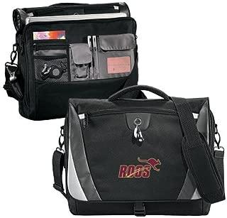 Austin College Slope Black/Grey Compu Messenger Bag 'Primary Mark 2 Color'