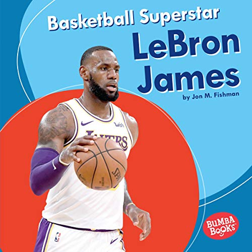 Basketball Superstar LeBron James cover art