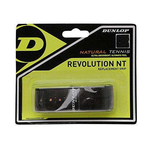 Dunlop Revolution NT Replacement Grip schwarz 1er Basisgriffbänder, One Size