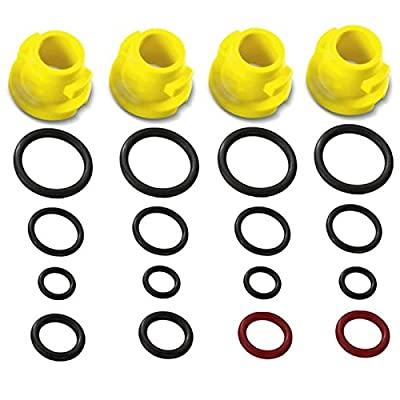 Genuine Karcher Pressure Washer O-Ring Nozzle Set (Fits: K1 K2 K3 K4 K5 K6 K7 T250 T-Racer) from Kärcher