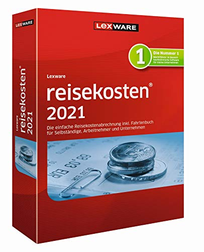 Preisvergleich Produktbild Lexware reisekosten 2021 Jahresversion (365-Tage) / Basis / 1 / 1 Jahr / PC / Disc