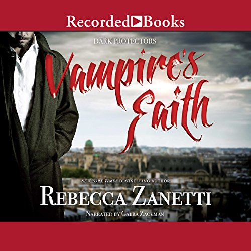 Vampire's Faith audiobook cover art