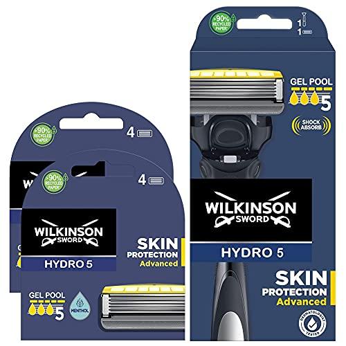 Wilkinson Sword - Maquinilla de Afeitar Hydro 5 Sense Energize + 8 Recambios de Cuchillas...