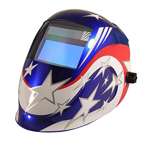ArcOne Python Welding Helmet Professional Grade with 5500V Auto Darkening Filter (Spirit)