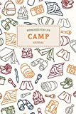 Memories for Life Camp Journal: Summer Camp Journal Sketchbook | Keepsake For Writing Memories, Drawing, Autographs, and Notes