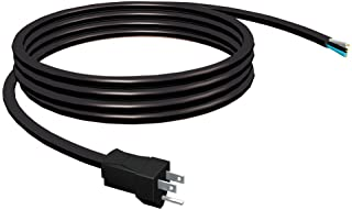 Stanley 31939 Grounded 3-Wire – 9ft. Replacement Cord 15 AMP,Black