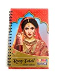 Sticker Bindi Mang Tiki Temprory Tatoos Polka Dot Bindi Sticket for Forehead - Unique Collection in Spiral Book- Multicolor Bindi in size variation- Easy to Keep- Easy to Handy- 960 Bindi in one single book - Premium Quality from India