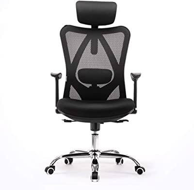 Amazon.com: Sihoo Silla reclinable ergonómica de oficina ...